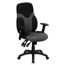 <strong>Flash Furniture</strong> Ergonomic High-Back Mesh Task Chair with Adjustable Arms