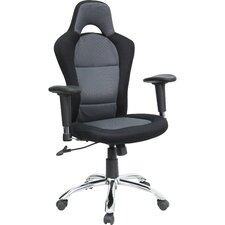 Race Car Inspired High-Back Mesh Office Chair