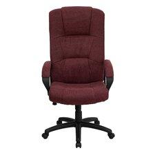 High-Back Fabric Executive Chair