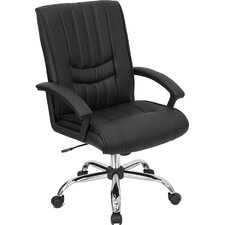 <strong>Flash Furniture</strong> Mid-Back Manager's Office Chair