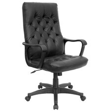 <strong>Flash Furniture</strong> Traditional High-Back Office Chair