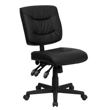 <strong>Flash Furniture</strong> Mid-Back Multi-Functional Task Chair