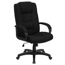High-Back Executive Chair with Padded Arms