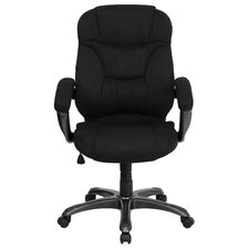 <strong>Flash Furniture</strong> High-Back Microfiber Upholstered Office Chair