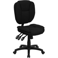 <strong>Flash Furniture</strong> Mid-Back Multi-Functional Ergonomic Task Chair