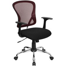 Mesh Office Chair with Chrome Base