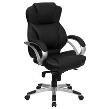 <strong>Flash Furniture</strong> High-Back Contemporary Office Chair with Designer Loop Arms