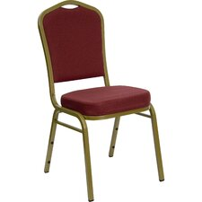 Hercules Series Stacking Crown Back Banquet Chair
