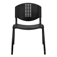 <strong>Flash Furniture</strong> Hercules Series Polypropylene Stack Chair with  Frame