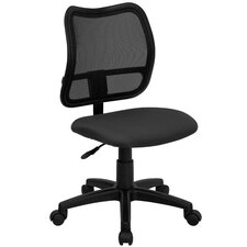 <strong>Flash Furniture</strong> Mid-Back Mesh Task Chair with Cutout