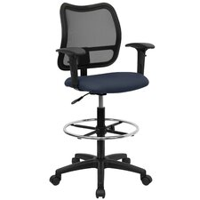 <strong>Flash Furniture</strong> Height Adjustable Drafting Stool with Cutout