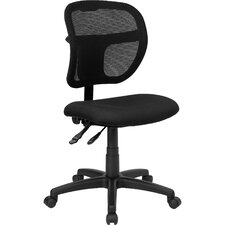 Mid-Back Mesh Task Chair with Curved Back