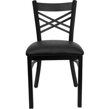 <strong>Flash Furniture</strong> Hercules Series  ''X'' Back Side Chair