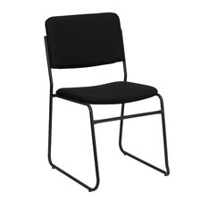 Hercules Series High Density Stacking Chair with Sled Base