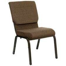 Hercules Series 18.5' Wide Church Chair with Gold Vein Frame