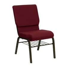 "Hercules Series 18.5"" Wide Stacking Church Chair with 4.25"" Thick Seat"