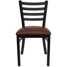 <strong>Flash Furniture</strong> Hercules Series Ladder Back Side Chair