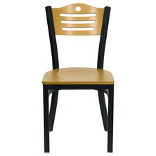 Hercules Series Slat Back Side Chair