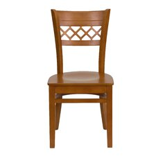 Hercules Series Lattice Back Side Chair