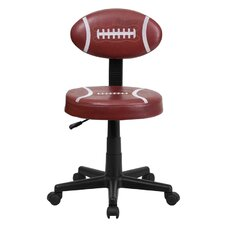 Football Mid-Back Kid's Desk Chair