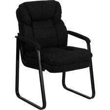 Executive Guest Side Chair with Sled Base