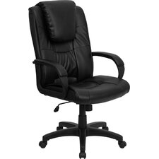 <strong>Flash Furniture</strong> High-Back Leather Executive Chair