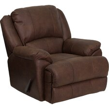<strong>Flash Furniture</strong> OverStuffed Bomber Jacket Chaise Recliner
