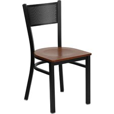 Hercules Series Grid Back Side Chair