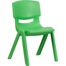 "15.5"" Plastic Classroom Stackable School Chair"