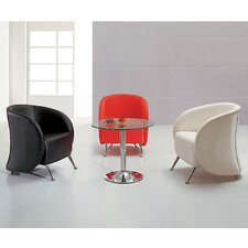 <strong>Flash Furniture</strong> Hercules Jet Series Reception Lounge Chair