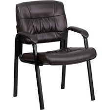 <strong>Flash Furniture</strong> Leather Guest / Reception Chair