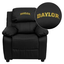 <strong>Flash Furniture</strong> NCAA Embroidered Kid's Recliner