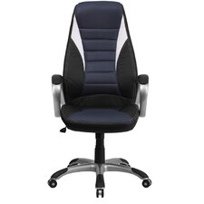 <strong>Flash Furniture</strong> High-Back Mesh Executive Office Chair with Arms