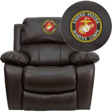 <strong>Flash Furniture</strong> Personalize Rocker Leather Recliner