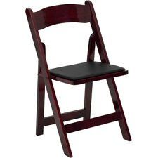 Hercules Series Folding Chair with Padded Seat