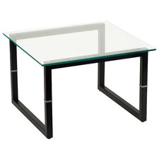 <strong>Flash Furniture</strong> Glass End Table