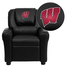 <strong>Flash Furniture</strong> NCAA Kid's Recliner