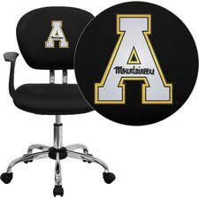 <strong>Flash Furniture</strong> NCAA Embroidered Mid-Back Mesh Task Chair