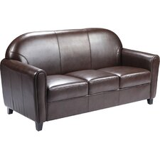 Hercules Envoy Series Leather Love Seat