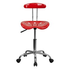 Vibrant Computer Task Chair with Tractor Seat