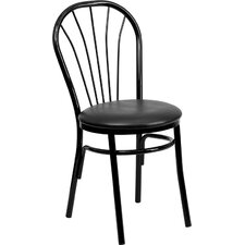<strong>Flash Furniture</strong> Hercules Series Fan Back Metal Chair
