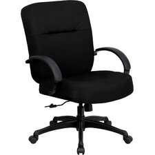 <strong>Flash Furniture</strong> Hercules Series High-Back Big and Tall Fabric Office Chair with Arms