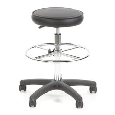 <strong>Flash Furniture</strong> Height Adjustable Drafting Stool with Footring