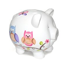 <strong>Child to Cherish</strong> Owl Large Piggy Bank