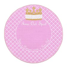Time Out Spot Princess Kids Rug
