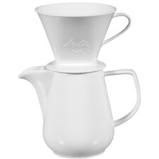 6 Cup Porcelain Carafe (Set of 4)