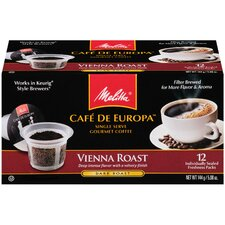 Vienna Hard Pod Coffee (Pack of 12)