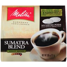 Sumatra Soft Pod Coffee (Pack of 16)