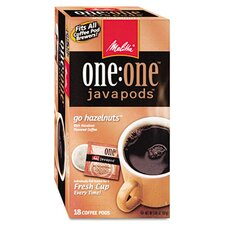 <strong>Melitta</strong> Hazelnut Cream Coffee Pods, 18 Pods/Box