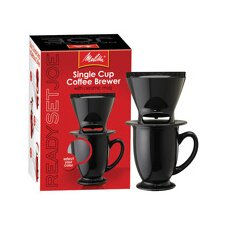 <strong>Melitta</strong> Ready Set Joe One Cup Coffee Maker